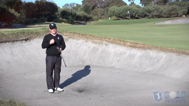 How To Hit Out Of A 90 Metre Fairway Bunker