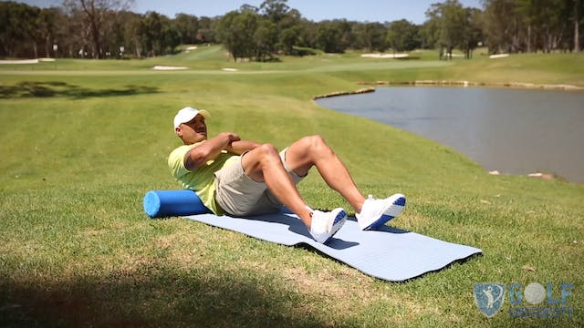 Self Massage Exercises for Golf