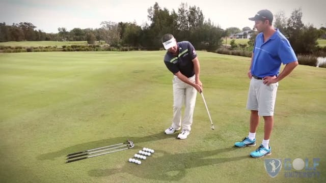The Chipping Distance Control Drill
