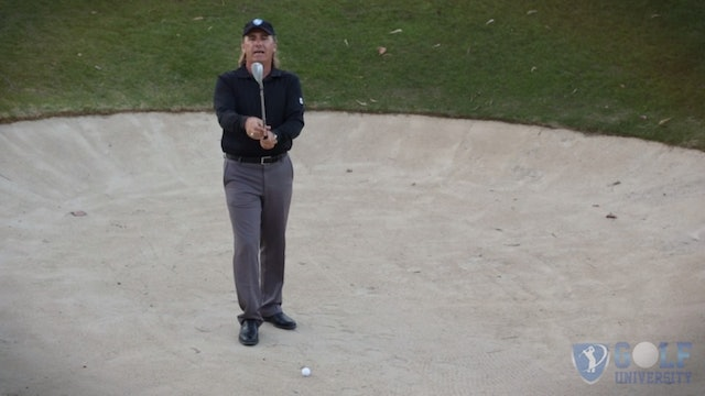 How To Spin or Stop Your Ball Out Of Bunkers