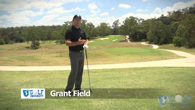 How To Hit a Wood or Hybrid off a Downhill Lie