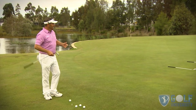 The Four Club Chipping Drill