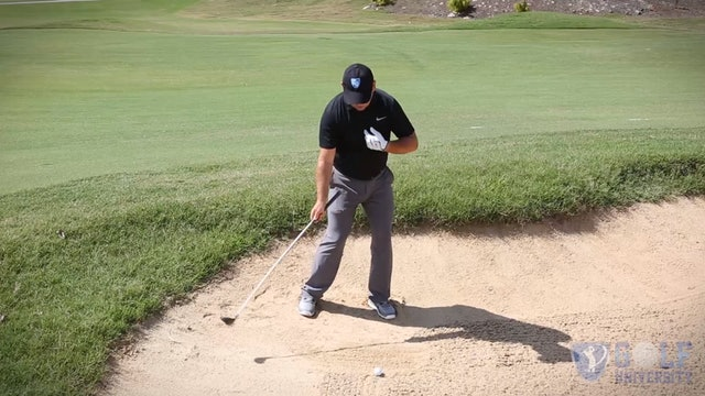 How To Hit a Hybrid Out of a Fairway Bunker