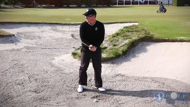 Bunker Distance Control Drill