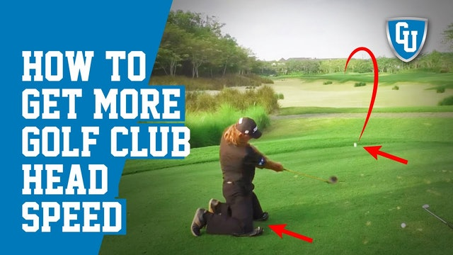 Get More Golf Club Head Speed | Increase Distance & Maintain Accuracy