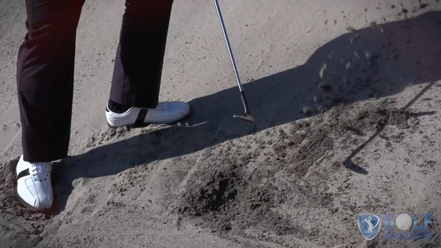 How To Hit Out Of A Bunker When Your Ball Is Plugged In The Face
