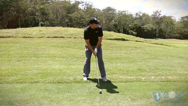 How To Hit a Wood When The Ball is Below Your Feet
