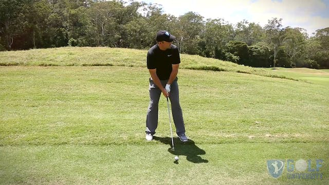 How To Hit a Wood When The Ball is Be...