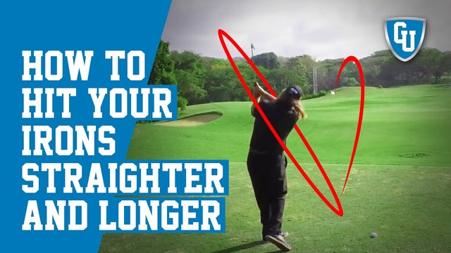 How To Hit Your Irons Straighter & Longer