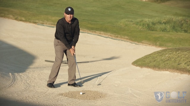 Tough Shots Mastery Video Series- Video 2 Wet Packed Sand in A Bunker