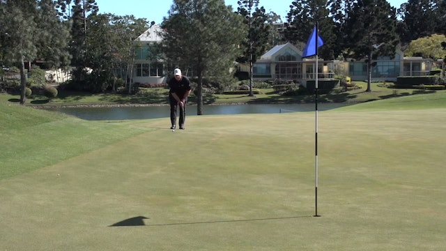 How To Putt On A Downhill Right To Left Green