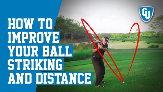 How To Flatten Out Your Golf Swing To Increase Your Ball Striking and Distance