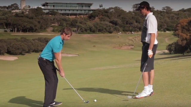 How to Hit a Golf Ball Off a Sidehill Lie