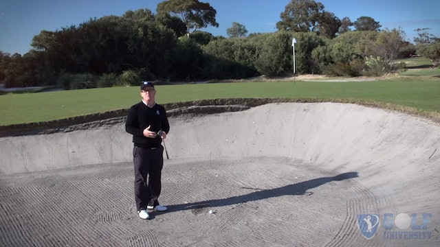 How To Hit Out Of A Bunker When There Is A Bunker On The Other Side