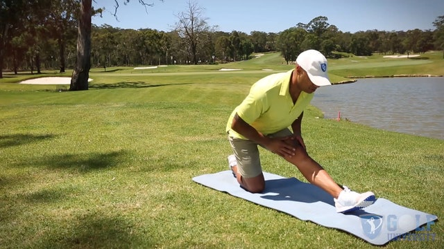 The Hamstring Stretch for Golf