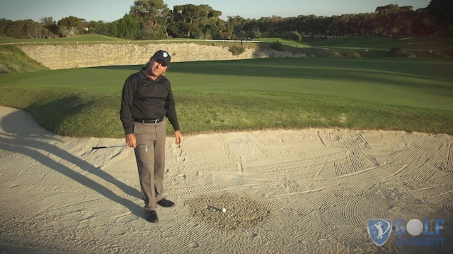 How To Hit Out Of Wet Packed Sand in a Bunker