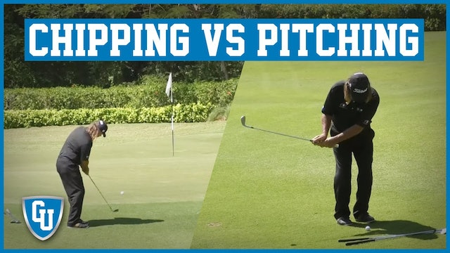 The Difference Between Chipping and Pitching