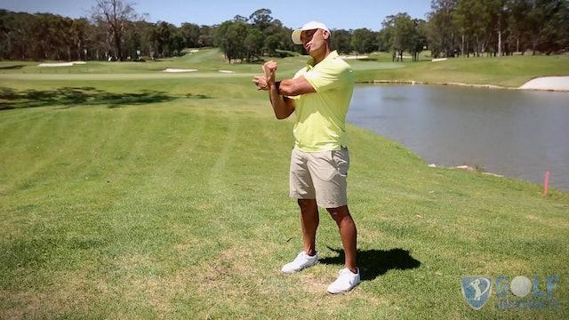 The Upper Back and Shoulder Stretch for Golf