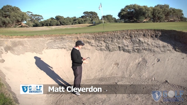 The Importance of Bounce when playing a Bunker Shot