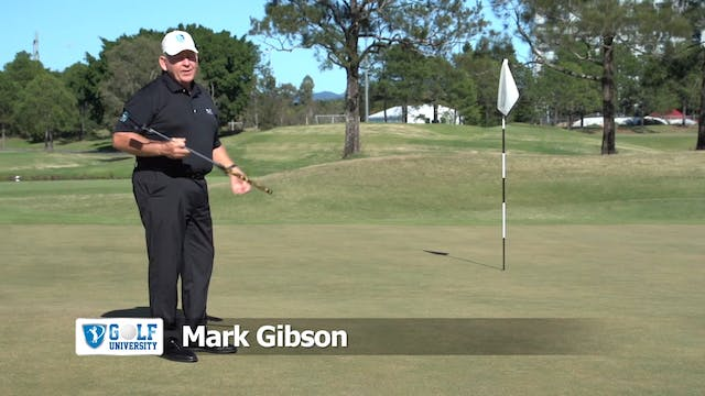How To Putt On A Side Hill Lie
