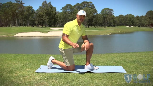 The Downward Dog Stretch for Golf