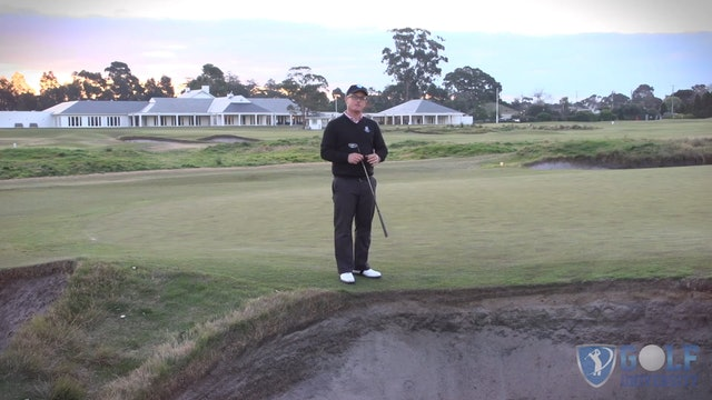 Creating A Pre Shot Bunker Routine
