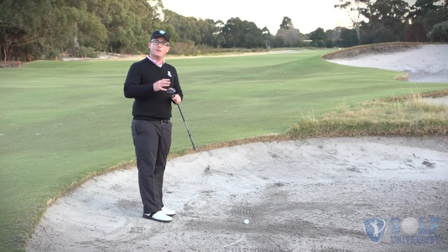 How To Hit A Hybrid or 3 Wood Out of A Fairway Bunker