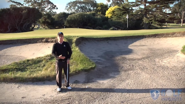 No Sand In A Bunker Shot