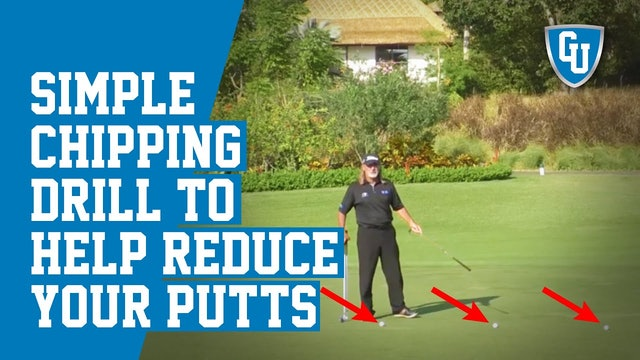 Great Chipping Drill to Help You Sink More 3 Foot Putts - Senior Golfers