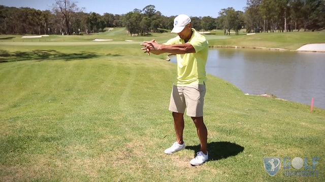 The Upper Back Stretch for Golf