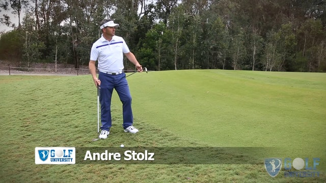 How To Chip on an Uphill Lie