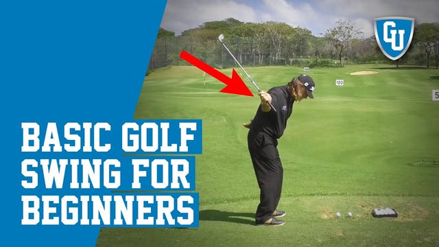 Basic Golf Swing for Beginners