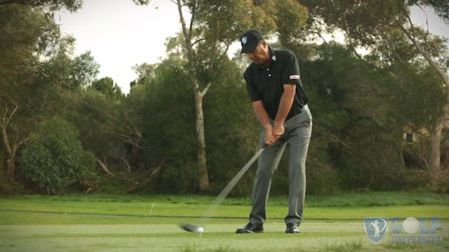 How To Hit Your Drives Lower