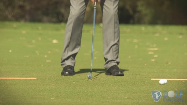Ball Position Drill - How To Find the Bottom Part of Your Swing with Your Irons