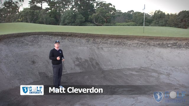 How To Hit Out Of A Steep Faced Bunker