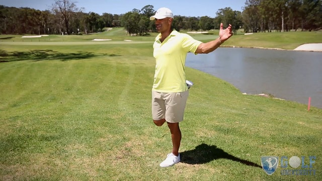 The Quadricep (Thigh) Stretch for Golf