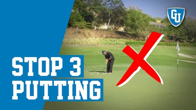Improve Your Putting Distance Control...