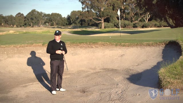 How To Hit Out Of A Bunker To A Mid Pin