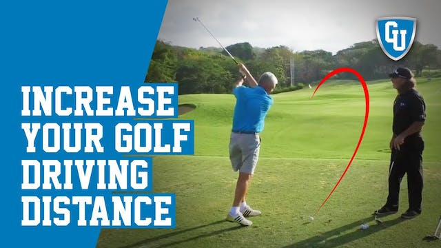 How To Increase Your Golf Driving Dis...