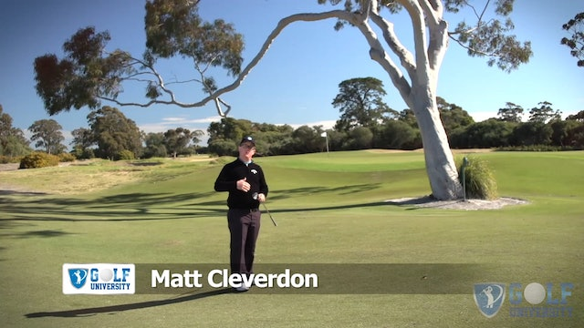How To Pitch The Ball Under A Tree Over A Bunker