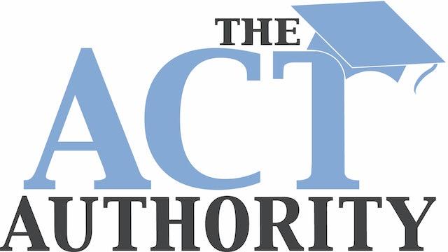 ACT Math - Reordering an Equation