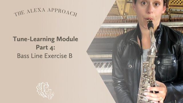 Tune-Learning Module Part 4: Bass Line Exercise B