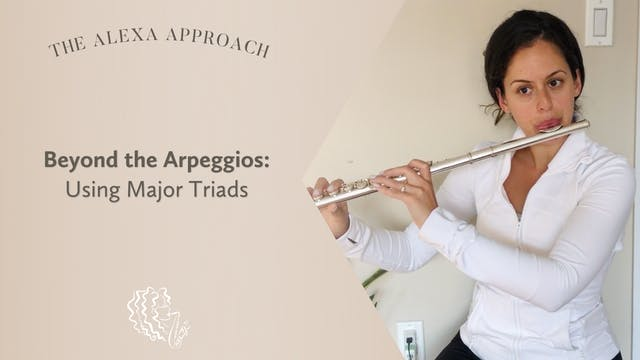 Beyond the Arpeggios: Using Major Triads