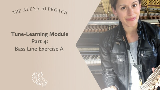 Tune-Learning Module Part 4: Bass Line Exercise A