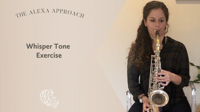 Whisper Tone Exercise