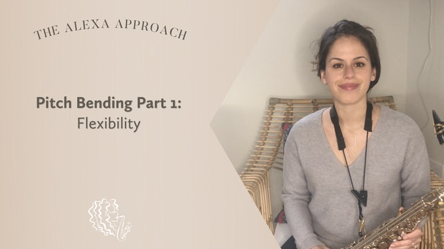 Pitch Bending Part 1: Flexibility