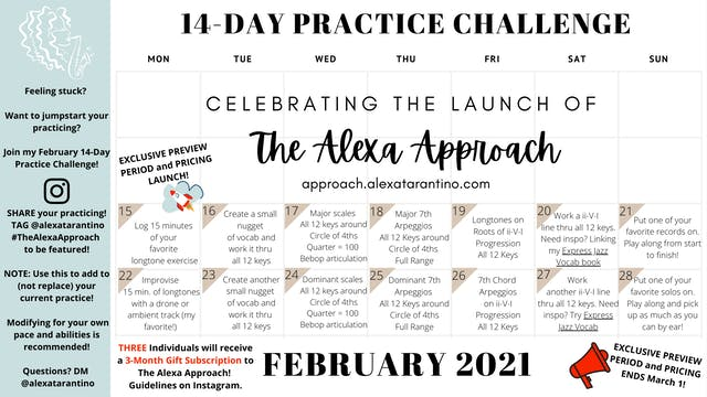 14-Day Practice Challenge Day 0 Info ...