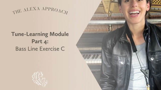 Tune-Learning Module Part 4: Bass Line Exercise C