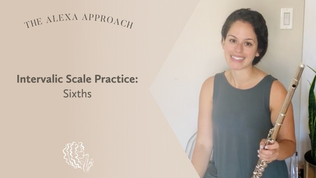 Intervalic Practice in Sixths