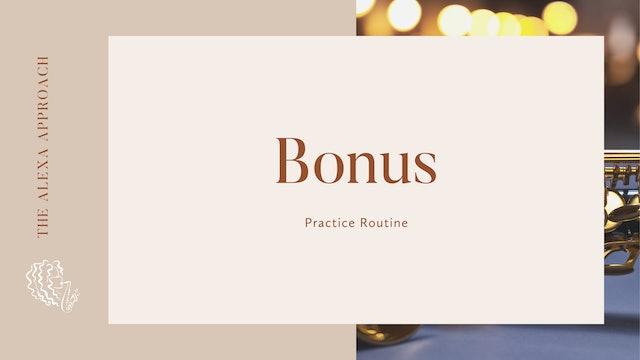 Bonus!